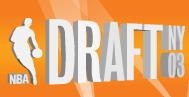 2003 NBA Draft logo