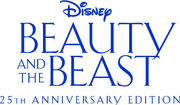 Beauty And The Beast 19912016 25th Anniversary Edition-Title-Treatment