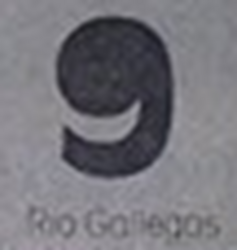 Canal 9 Río Gallegos (Logo 1989)