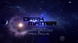Dark Matter Intertitle