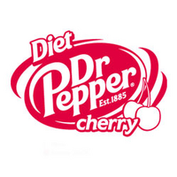 Diet Dr Pepper Cherry logo