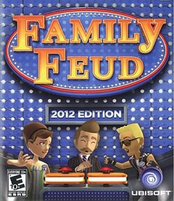 Family Feud 2012 Edition XBOX 360 Cover