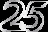 Indosiar 25 Tahun Luar Biasa Number Transparent