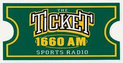 KTIQ 1660 AM The Ticket
