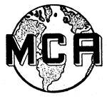 MCA Inc. logo 1959
