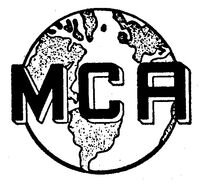 MCA Inc. logo 1959