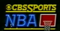 NBA on CBS logo 1982 1989