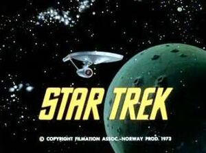 Star trek animated