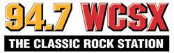 WCSX 94.7 Horizontal Logo