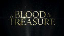 Blood and Treasure titlecard