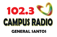 Campus Radio 102.3 General Santos Logo 2002