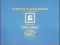 MPAA G Rating (Change of Habit Variant)