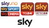 SKY 2010 logos