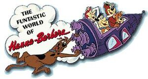 The Funtastic World of Hanna-Barbera (ride) logo