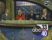 ABC 33-40 James Spann Josh Thomas Brenda Ladun and Mike Raita Promo 1996