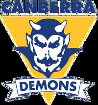 Canberra demons logo