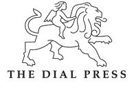 Dialpress logo white