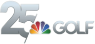 Golf Channel 25th Anniversary Logo