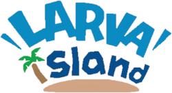 Larva island logo