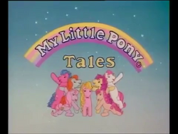 My Little Pony Tales 1992 Title Card