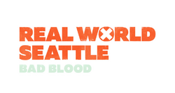 Real World Seattle - Bad Blood Logo