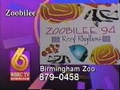 WBRC-TV Channel 6 Zoobilee promo 1994