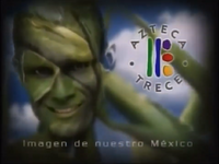 XHDF-TV Azteca 13 (2001) Paisajes