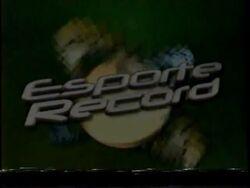 Esporte Record 2000