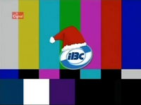 IBC-13 Christmas logo on screen bug (every Sept-Dec) Test Card