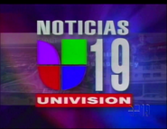 KUVS-TV Noticias 19 Open Graphic 1999