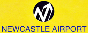 Newcastle Airport logo 1991