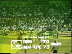 PBA on Vintage Sports scorebug 1984 IC
