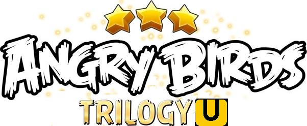Resultado de imagem para Angry Birds Trilogy logo png