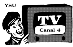 Canal 4 SV 1958