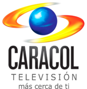 Caracol TV 2010 with slogan