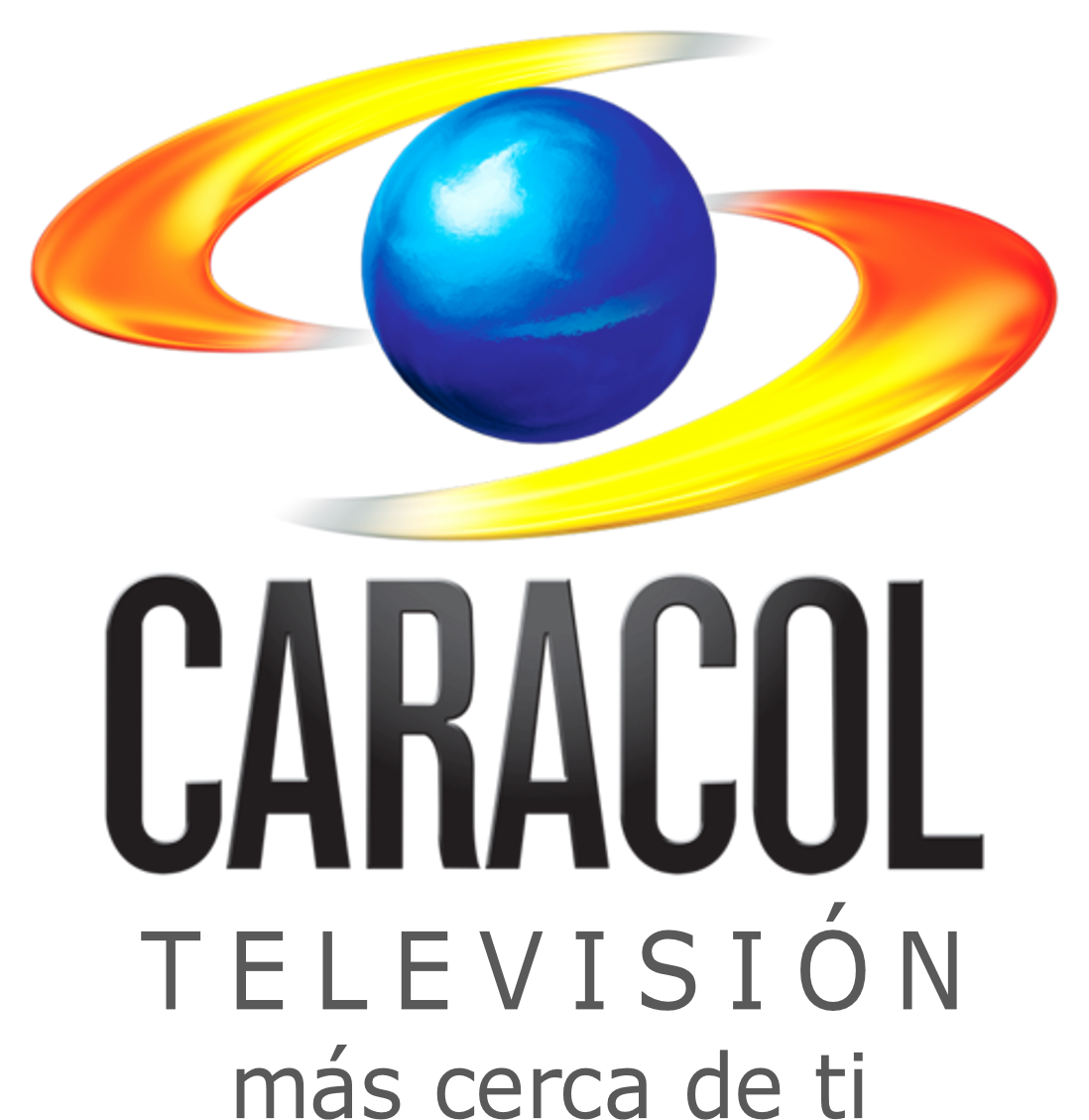 Caracol Tv  With Slogan Png