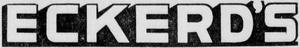 Eckerd's - 1952 -October 7, 1954-
