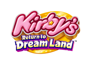 Kirby's Return to Dream Land Logo