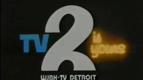 """WJBK Channel 2 - """"TV 2 Is Yours"""" (ID, 1977)"""