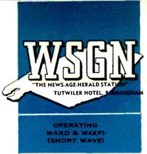 WSGN - 1932 -December 28, 1938-