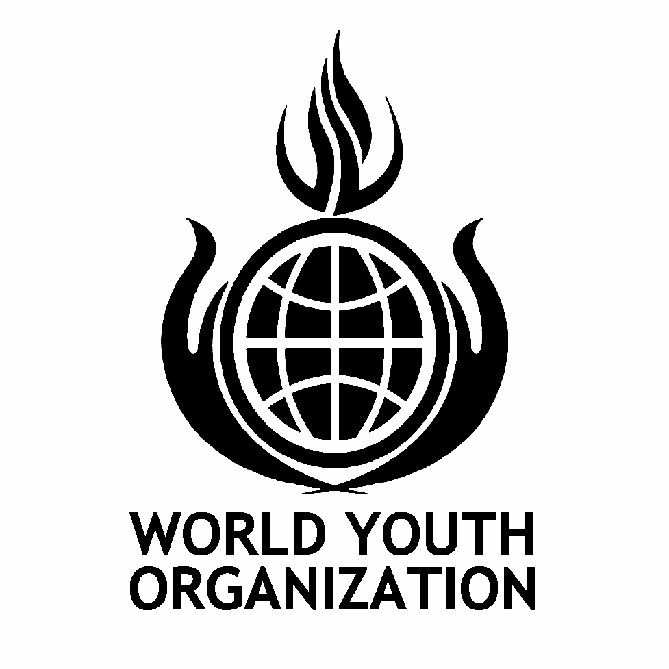 World Youth Organization Black Logo