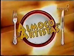 Almoço com os Artistas