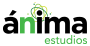 Anima estudios new logo invert
