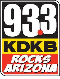 KDKB 93.3 logo