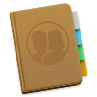 MacOS Contacts Icon