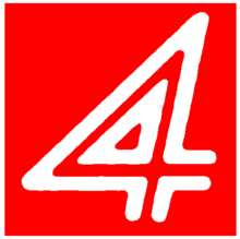 WDIV retro 4 logo in red