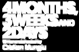 4months3weeks2daysCriterionLogo