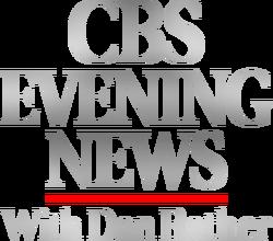 CBS Evening News 1991 (with Dan Rather)