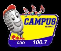 Campus Radio 100.7 Cagayan de Oro Logo (2007-2009)
