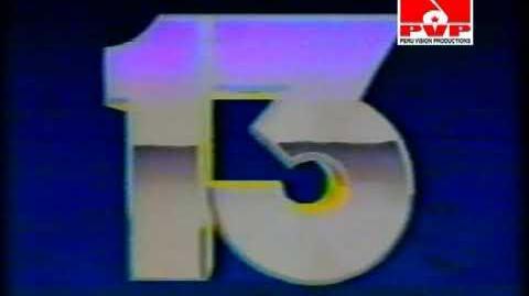 Logo Global Televisión 1991